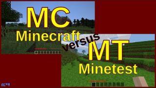 Minecraft vs Minetest