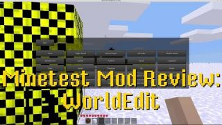 Minetest Mod Review: WorldEdit