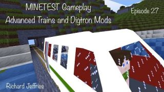 Minetest Game - EP 27 Advanced Trains and Digtron Mods
