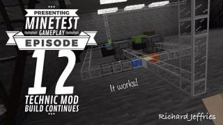 Minetest Gameplay EP 12 Technic mod Factory Additions
