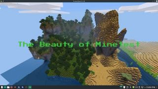 The Beauty Of Minetest