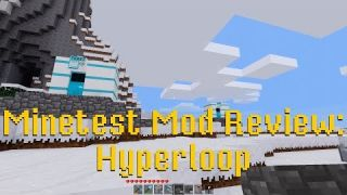 Minetest Mod Review: Hyperloop
