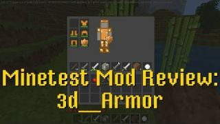 Minetest Mod Review: 3d Armor
