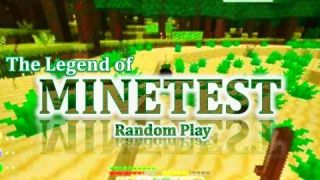 EXPLORING! - Legend of Minetest - Random Play (with Mischa)