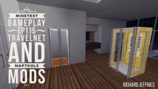 Minetest Gameplay EP115 Travelnet and Maptools Mods