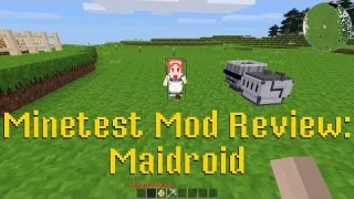 Minetest Mod Review: Maidroid