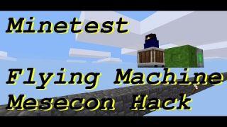 Minetest Flying Machine