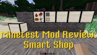 Minetest Mod Review: Smartshop