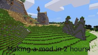 Making a mod in 2 hours!