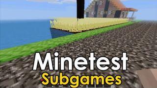 Minetest - Subgames