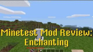 Minetest Mod Review: Enchanting