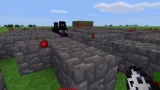 A* pathfinder - Packman in Minetest