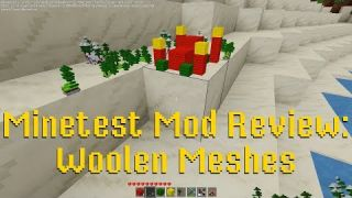 Minetest Mod Review: Woolen Meshes