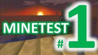 CREEPY MOON - Legend of Minetest - #1