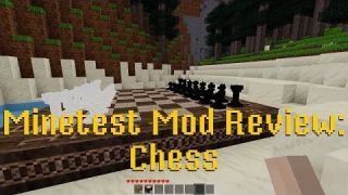 Minetest Mod Review: Chess