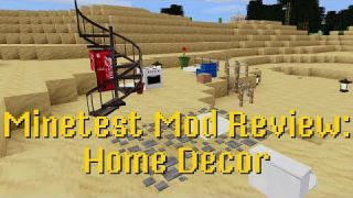 Minetest Mod Review: Home Decor