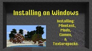 Installing Minetest on Windows | 01-04 | Minetest Modding Course