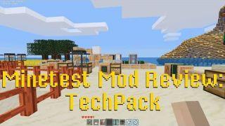 Minetest Mod Reivew: TechPack