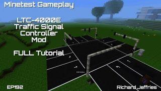 Minetest Gameplay EP192 Full LTC-4000e Traffic Signal Controller Mod Tutorial