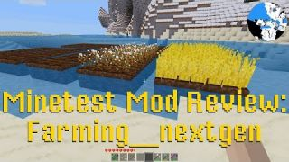 Minetest Mod Review: Farming nextgen