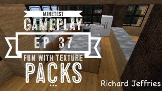 Minetest Gameplay - EP37 - Fun With texture Packs!
