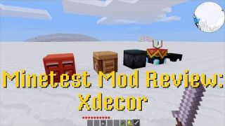 Minetest Mod Review: Xdecor