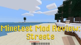 Minetest Mod Review: Streets