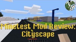 Minetest Mod Review: Cityscape