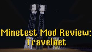 Minetest Mod Review: Travelnet