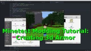 Minetest Modding Tutorial: Creating 3d Armor