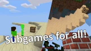 Minetest - Subgames for all (Minigames)