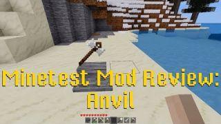 Minetest Mod Review: Anvil