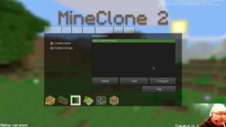 Trying out the Minetest MineClone 2 Subgame